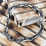 925 sterling silver bracelet for men gift for men bracelet men gothic snake bracelet chain bracelet snake jewelry boyfriend rock punk chunky
