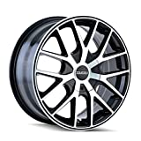 TOUREN TR60 (3260) BLACK Wheel MACHINED FACE Ring (18 x 8. inches /5 x 100 mm, 40 mm Offset)