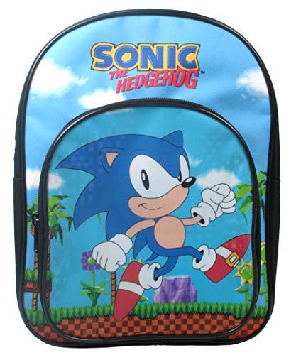 Sonic The Hedgehog Retro Arch Backpack School Bag