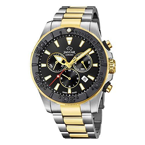 Jaguar Reloj Executive Diver XL, Hombre, (diametro Caja 46.5mm) Movimiento: CRONÓGRAFO- Suizo - Cristal: Zafiro (Executive Diver XL, J873/3)