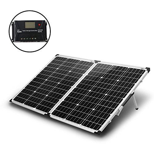 KOMAES 100 Watts 12Volts Monocrystalline Solar Panel with...