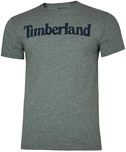 Timberland - Camiseta - para Hombre Gris M