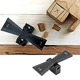 𝐂𝐡𝐫𝐢𝐬𝐭𝐦𝐚𝐬 𝐂𝐚𝐫𝐧𝐢𝒗𝐚𝐥 Guía de cola de milano, carpintería Marcador de cola de milano Herramienta de calibrador de juntas de madera con escala 1: 5/1: 8