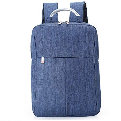 Msbir Notebook Computer Bag Men'S Shoulder Bag Business Backpack Hand-Held Men'S Bag Gift 15 Inch Blue zaino porta pc impermeabile antifurto north face zaino donna zaino uomo impermeabile lavoro