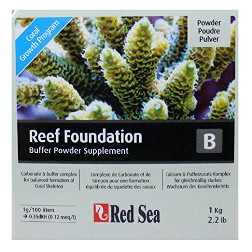 Red Sea Reef Foundation, Type B, carbonaat en buffercomplex voor koraal, poeder, 1kg