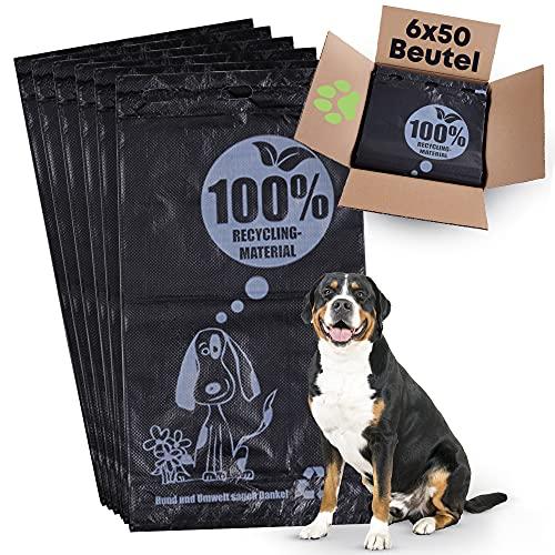 doggylay Kotbeutel für Hunde | Hundetüten aus 100% Recyclematerial | Must-Have Hundezubehör | reißfest & nachhaltig | Hundekotbeutel für kleine & große Hunde
