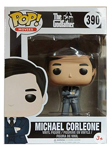 Funko 13446 – The Godfather, Pop Vinyl Figure 390 Michael Corleone in Grey Suit