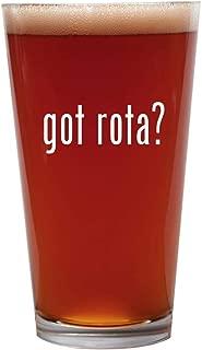 got rota? - 16oz Beer Pint Glass Cup