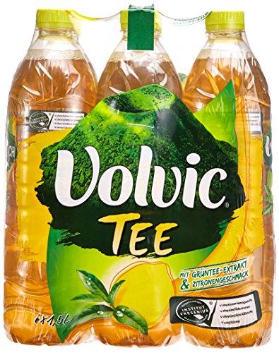 Volvic Frucht Grüner Tee Zitrone EINWEG (6 x 1.50 l)