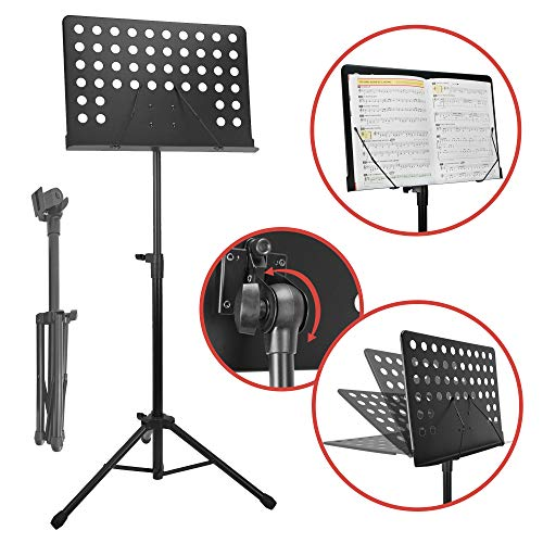 Rocket Music MS05BK Orchester NotenStand