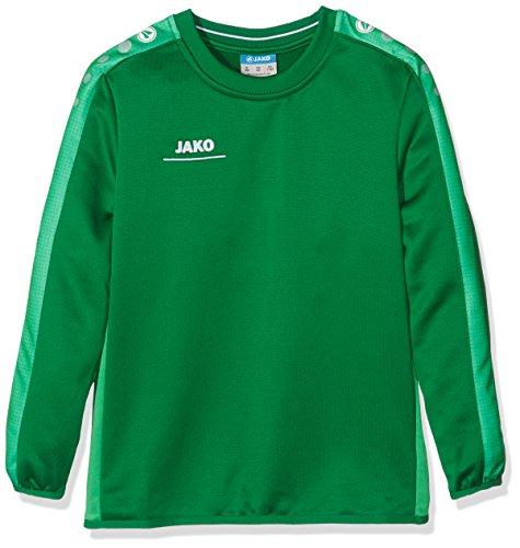 JAKO Kinder Sweatshirt Sweat Striker,sportgrün,164 (EU 13-14 Jahre)