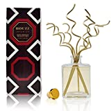 HOUZZ Interior Holiday Evergreen, Red Currant and Juniper Reed Sticks Diffuser Set – All Natural – No Sulfates or Parabens – Made in The USA