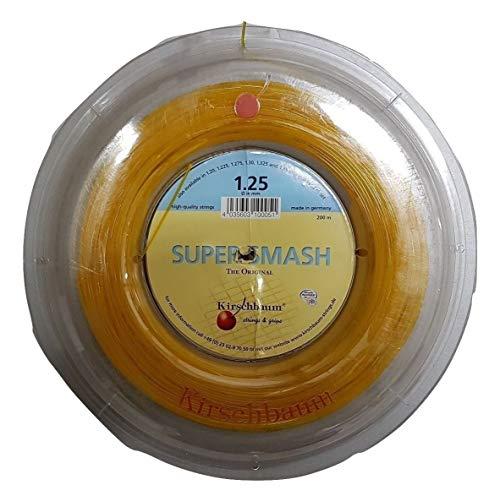 Kirschbaum Super Smash - Cuerda de Raqueta (200 m) Talla:1,35 mm