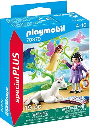 Playmobil Buscador de Hadas y Unicornios, Juguete, Multicolor, 70379
