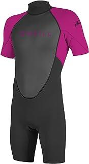 oneill wetsuits 女孩青少年 Reactor II 2毫米 Back 拉链春潜水服