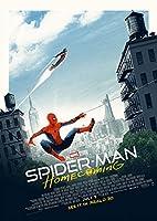 映画 スパイダーマン ホームカミング ポスター 42x30cm SPIDER-MAN HOMECOMING マーベル アベンジャーズ アイアンマン トニー スターク トム ホランド ロバート ダウニー Jr マイケル キートン