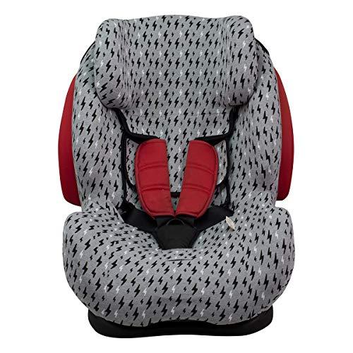 Funda para silla de coche Be Cool, Thunder- Foppapedretti BLACK RAYO