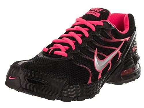 Nike Women's Air Max Torch 4 Running Shoe Black/Metallic Silver/Pink Flash Size 7.5 M US
