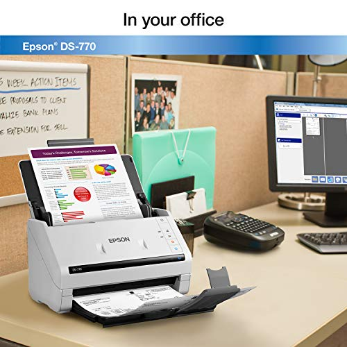 Epson DS-770 Document Scanner: 45 ppm, Twain & ISIS Drivers, 3-Year Warranty with Next Business Day Replacement Photo #5