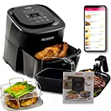 NuWave Brio 6-Quart Healthy Digital Air Fryer with One-Touch...