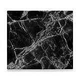 Zeller 26315 plaque de cuisson, métal, marbre - Noir - 56 x 50 x 1 cm