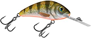 Salmo Rattlin Hornet 5.5 Floating, Yellow Holographic Perch