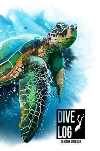 Dive Log: Logbuch für Taucher   A5 Format   120 Tauchgänge   Geschenkidee   Gerätetauchen