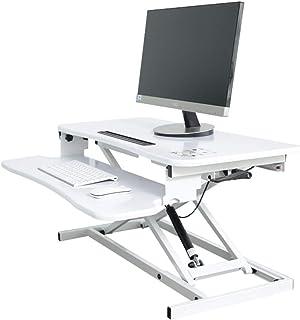 مكتب مسند جانبي على الطاولة، محطة عمل مكتب قابلة للتعديل للارتفاع، طاولة مريحة لسطح المكتب لشاشة الكمبيوتر الشخصي، لوحة ال...