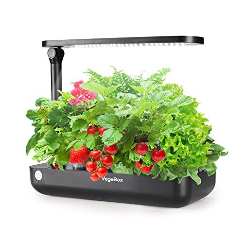 VegeBox Indoor Herb Garden, Hydroponic Growing System 9 Pods,...