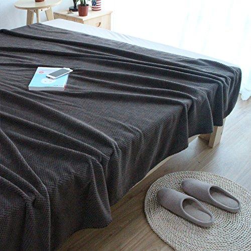Fil de Coton Rustique américaine Canapé-lit Salle de séjour Couverture Couverture de Loisirs pour travaux manuels Serviette Soft W-41