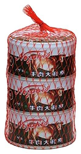 ノザキ 牛肉大和煮 3缶ネット 87gX3 [2335]