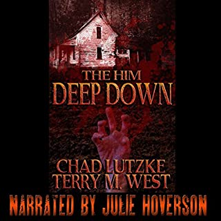 The Him Deep Down audiobook cover art