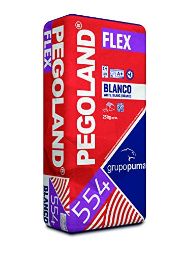 CEMENTO COLA PEGOLAND FLEX C2 TE S1 25 KG BLANCO