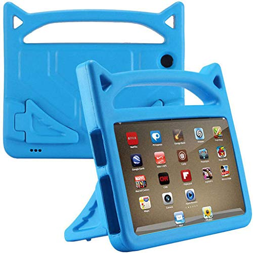 Easter's Best Gift !!! Cathy Clara Kids Cute EVA Shockproof Foam Safe Rugged Children's Tough Portable Handle Back Stand Cover case for Amazon Kindle HD 8 2018 8th Gen