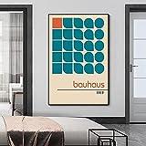 CloudShang Bauhaus 100 Jahre Poster Gebäude Poster Le