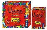 Kosmos 697396 Ubongo Junior - Juego de mesa clásico + Kosmos 711238 – Ubongo Junior