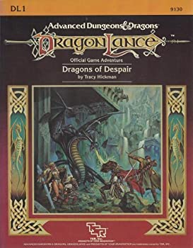 DL1 Dragons of Despair - Book  of the Advanced Dungeons and Dragons Module #C4