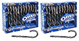Oreo Flavored Candy Canes 24ct Seasonal Holiday Candy