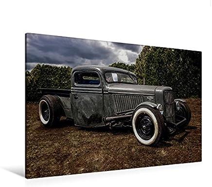 Premium Tessile della tela 45cm x 30cm Croce Ford Pick Up–Kustom kulture Bottrop, 120 x 80 cm