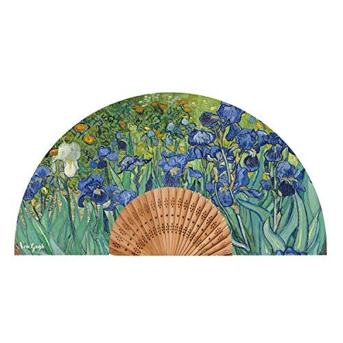 Van Gogh Abanico, Modelo Iris, Tela