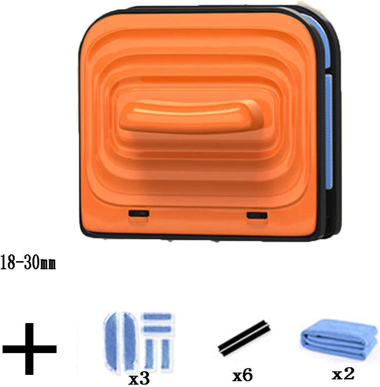 conveniente BLC Limpiador Magnético De Cristal Cristal Cristal Herramienta De Limpieza De Limpiaparabrisas para Doble Acristalamiento De 5-25 10-25 18-30  el mas reciente