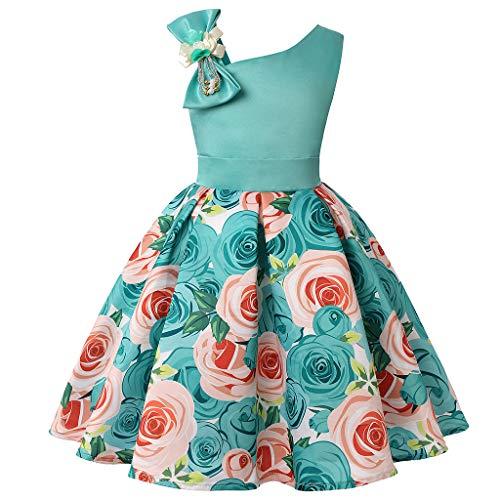 Wedding Party Birthday Dress Floral Lazo Tutu Vestido de Novia Chicas Cumpleaños...