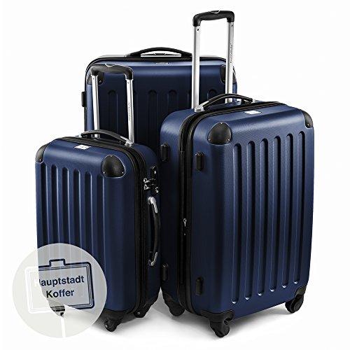 Hauptstadtkoffer - Juego de 3 maletas rígidas con ruedas en 3 tamaños...