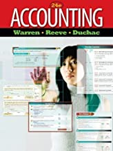 Accounting 24th (twenty-fourth) Edition by Warren, Carl S., Reeve, James M., Duchac, Jonathan published by Cengage Learning (2011)
