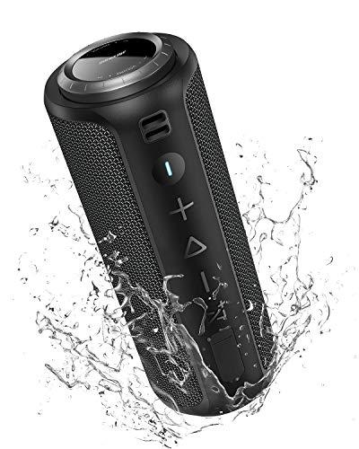 Bluetooth Lautsprecher 40W: SONGLOW IPX7 Wasserdicht Tragbarer Lautsprecher Boxen Bluetooth 5.0 mit Verstärktem Bass & Lauter Stereo Sound & Kabellose Mehr-Paarung & 12 Stunden Akku