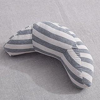 YYBF Almohada de Coche de Seguridad para niños Almohada de Viaje en Forma de U 35 * 15cm Gris