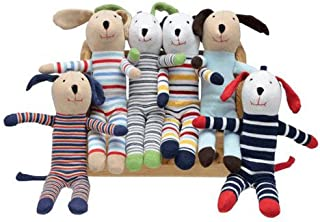 Under the Nile Organic Cotton Scrappy Dog Stuffed Animal Toy,Boy Surprise,10 inches