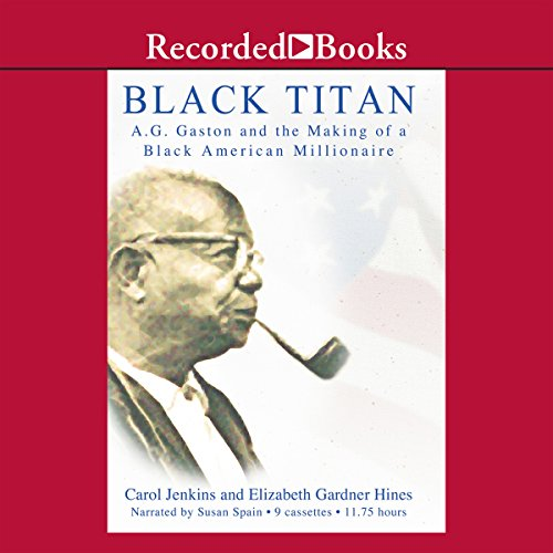 Black Titan audiobook cover art
