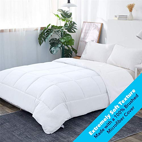 Equinox All-Season White Quilted Comforter