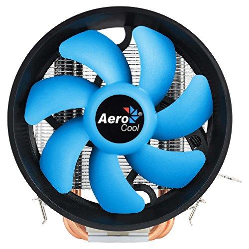 Aerocool VERKHO 3 PLUS, disipador de PC, ventilador 12cm, HCTT, aletas aluminio